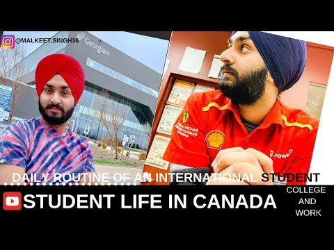 student life in canada | Georgian college | Barrie