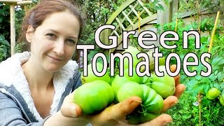 Green tomatoes: How do you ripen and eat green tomatoes?