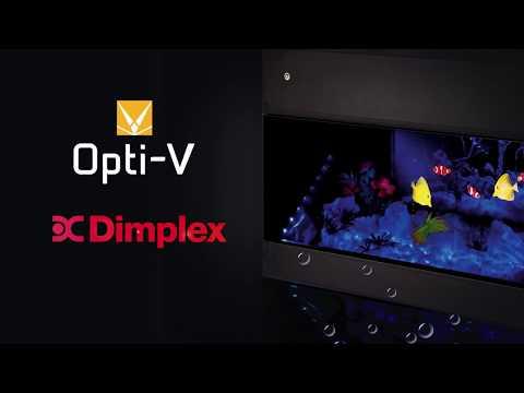 Электрический камин Dimplex Aqua-V серии Opti-V