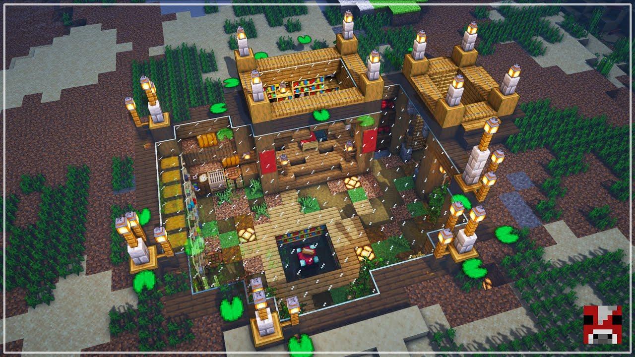 Underwater Survival Base | Minecraft Timelapse