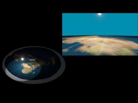 Flat Earth DISPROVEN - Sun disappears mid air! thumbnail