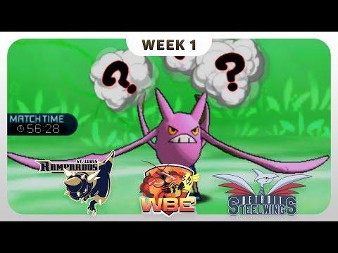 THE NASTY BAT! | St. Louis Rampardos VS Detroit Steel Wings WBE W1  | Pokemon Sun Moon