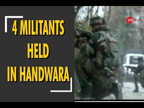 Jammu and Kashmir: Four militants held in Handwara after encounter