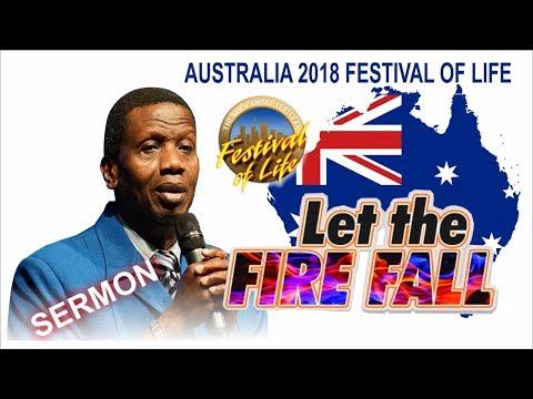 Pastor E.A Adeboye Sermon @ RCCG Australia FESTIVAL OF LIFE 2018