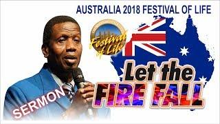 pastor ea adeboye sermon rccg australia festival of life 2018
