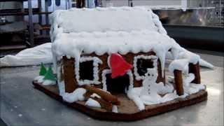 Domek z piernika - Cukiernia Królewska i jej  piernikowa chatka. Instrukcja jak zrobić !