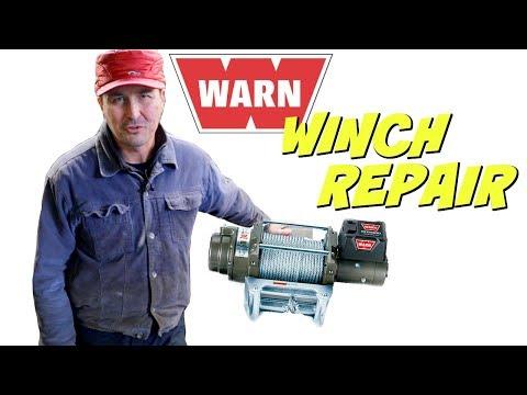 WARN Winch Repair Made Easy