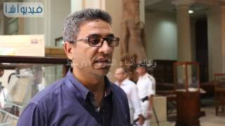 بالفيديو: مدير عام ترميم المتحف المصرى يشرح تفاصيل استقبال برديات الملك خوفو