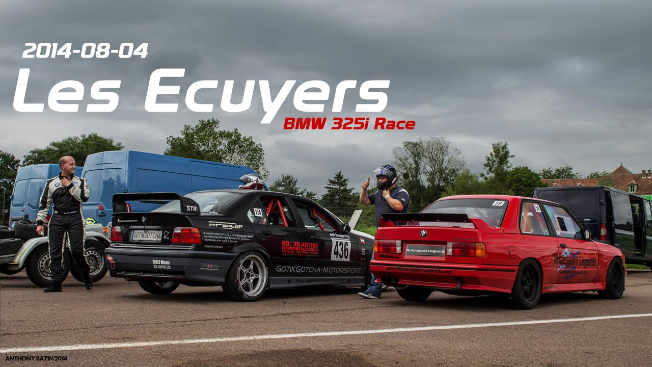 bmw e36 325i race vs m3 e30 les ecuyers. Black Bedroom Furniture Sets. Home Design Ideas