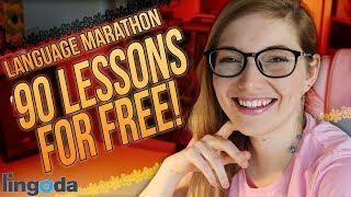 90 Pro German Lessons for FREE?! - Lingoda Language Marathon Round 4 is coming! | Ad