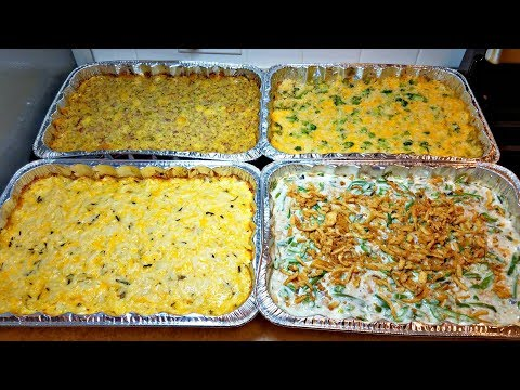 Easy Green Bean Casserole Recipe | How To Make Green Beans | Holiday Recipe Ideas For Sides