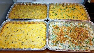 Easy Green Bean Casserole Recipe | Holiday Meal Prep For Sides | Holiday Recipe Ideas for Sides