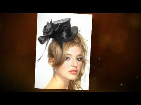 Fashion And Flair Mini Top Hats Fascinators Youtube