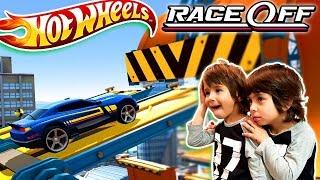 HOT WHEELS RACE OFF  😱 DESASTRE 😱 EN EL DESAFIO SUPERCARGADO!! Juegos y Aplicaciones para niños