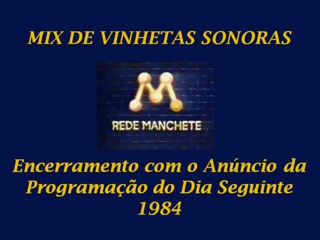Mix de Vinhetas Sonoras - Rede Manchete