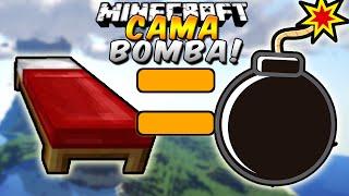 Minecraft: Como hacer una Cama Bomba (Trolea como Loco!) - Rabahrex