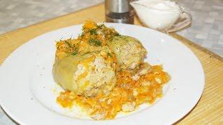 Перцы фаршированные. Как готовить перцы фаршированные мясом и рисом