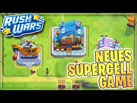 NEUES SUPERCELL SPIEL 😱 Gameplay Szenen | Rush Wars Beta Deutsch
