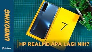 Nyobain HP realme terbaru 3 jutaan yang ada NFC! | Unboxing realme 7.