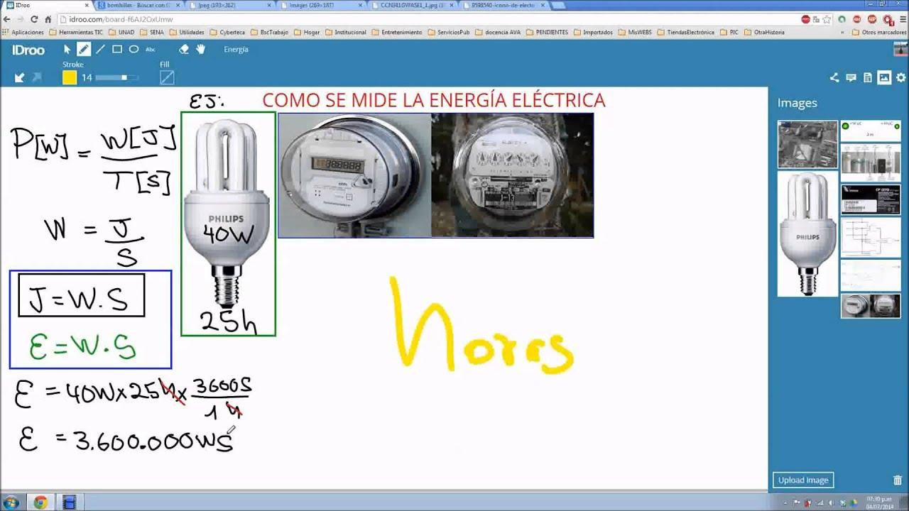 23 como se mide la energ a el ctrica youtube