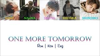 AAA - One More Tomorrow [Color Coded Lyrics/Kan/Rom/Eng]