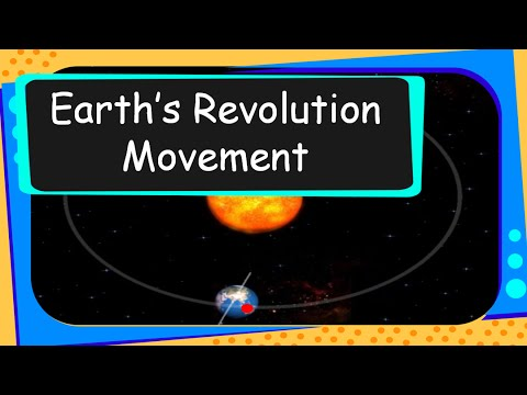 Science  Universe  Revolution of Earth and How Seasons Change  English