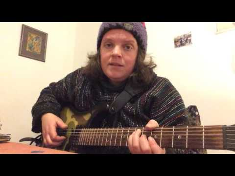 Vamping rhythm on electric guitar
