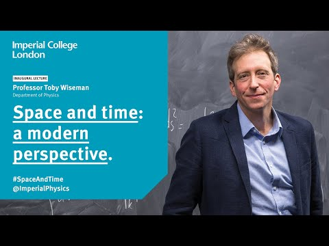 Space and time: a modern perspective