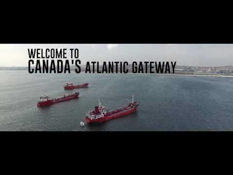 Port of Sydney, Nova Scotia, Canada