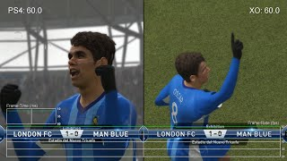 PES 2015: PS4 vs Xbox One Frame-Rate Test