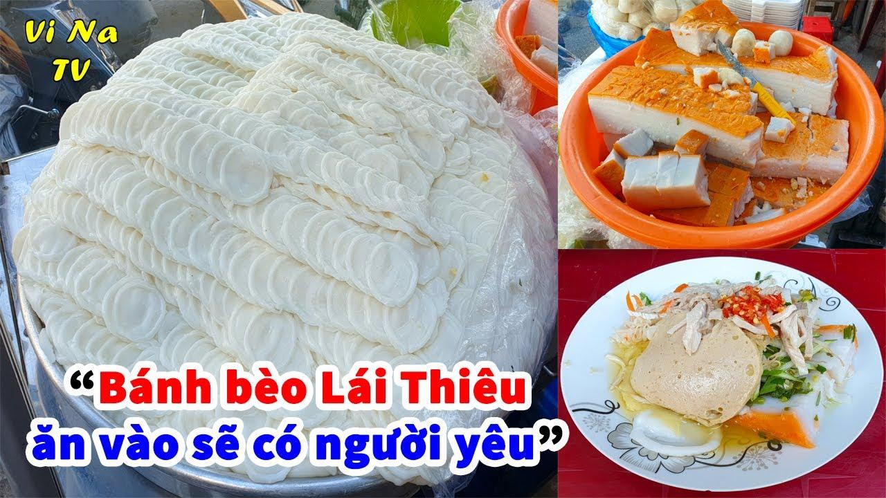 Khay bánh bèo bì cực khủng truyền 3 đời nổi tiếng nhất chợ Lái Thiêu – Vi Na TV