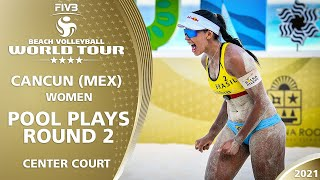 Court 1 | Women's Pool Play - Round 2 | Full Day | 4* Cancun 2021 #1