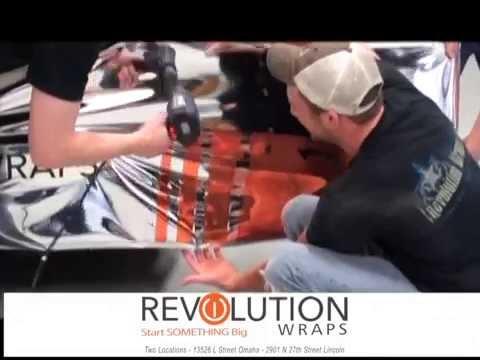 Omaha Chrome Car Wrap, Revolution Wraps