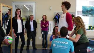 Teaming up with The Christopher & Dana Reeve Foundation