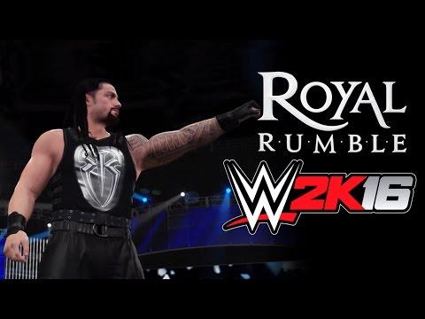WWE 2K16 - ROYAL RUMBLE | 30 MAN ROYAL RUMBLE