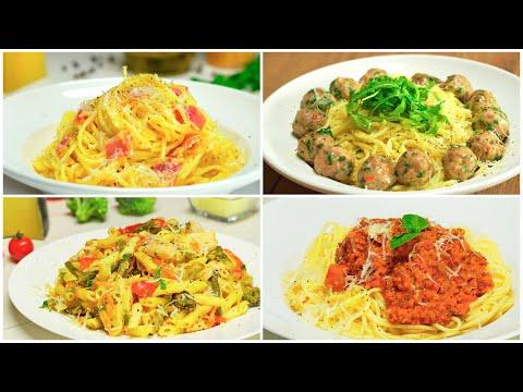 Спагетти Болоньезе, паста Карбонара и другие. 4 рецепта итальянской пасты от Всегда Вкусно!