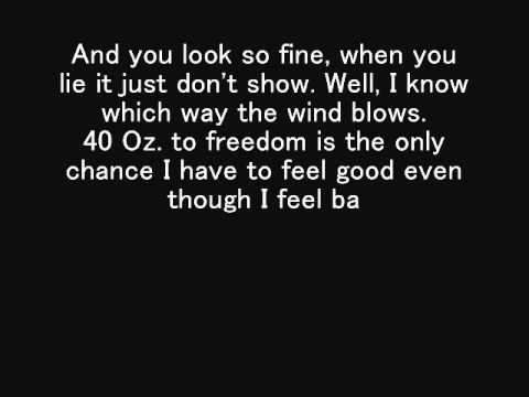 40 Oz. to Freedom - Sublime (Lyrics)