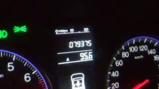 Honda CRW 3. Стук гидравлической рулевой рейки.
