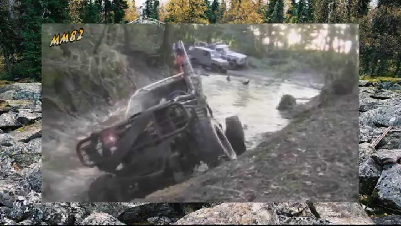 #75. Форд Багги плавает в болоте