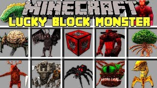 Minecraft LUCKY BLOCK MONSTERS l NOOB vs PRO MONSTERS in MINECRAFT! l Modded Mini-Game