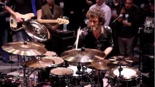 Jojo Mayer Performance - NAMM 2013 (DRUMEO)