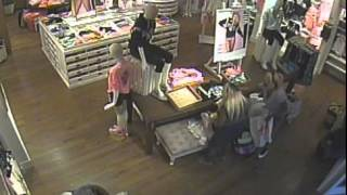 Surveillance video: Victoria's Secret theft ring