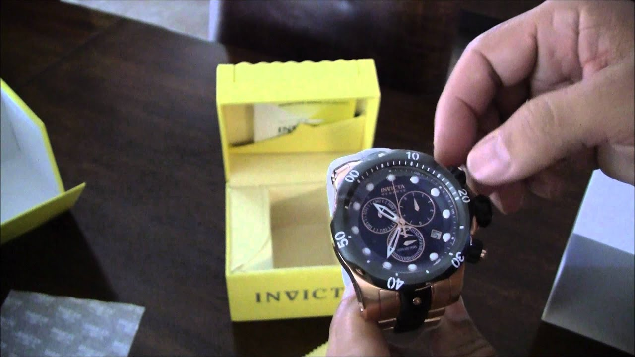 ab475792115 Invicta Reserve Subaqua Venom 5728 - YouTube