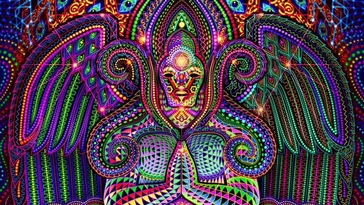 Acidmath Psychedelic Art Wallpapers Android App - YouTube