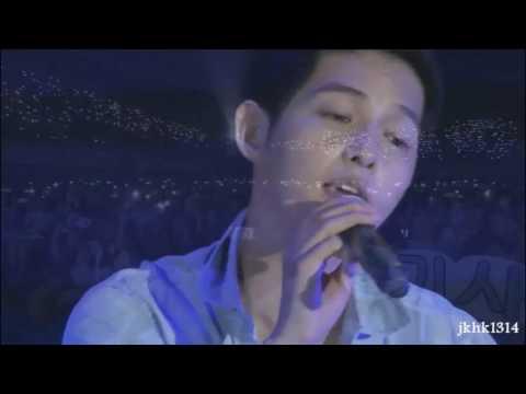 160625 송중기 대만팬미팅 소행운 Song Joong Ki Taiwan FM sing 小幸運 A Little Happiness 宋仲基唱中文歌小幸运