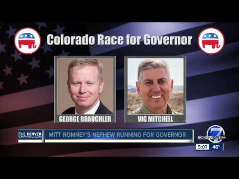 Doug Robinson, Romney's nephew, running for Colorado governor