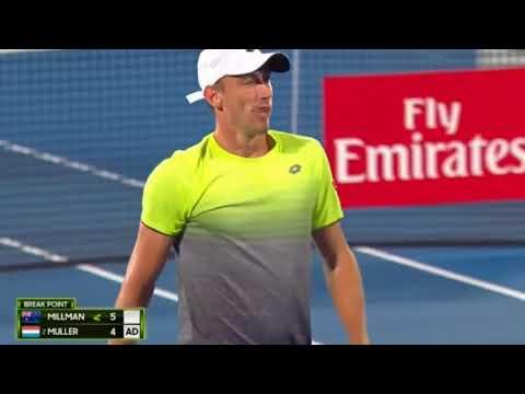 SYDNEY 2018 - Gilles Muller vs John Millman - Full Highlights HD