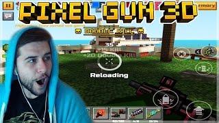 OVERPOWERED CASANOVA LEVEL 2 MACHINE GUN RAMPAGE!! Pixel Gun 3D