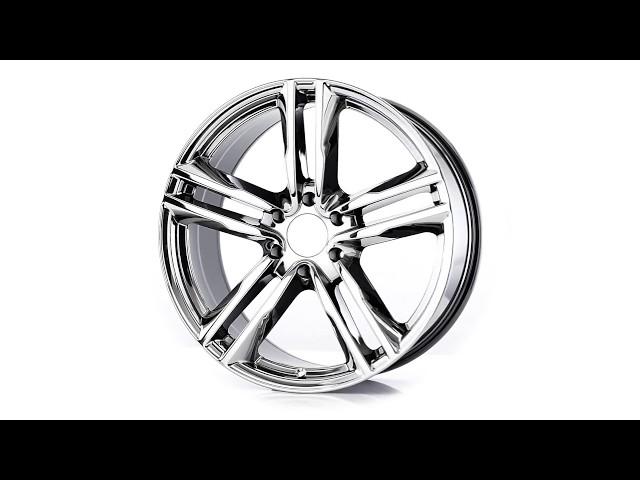 The Best Custom Wheels - The 22 Inch VT377 White Eco-Plate Custom Wheel from Vogue