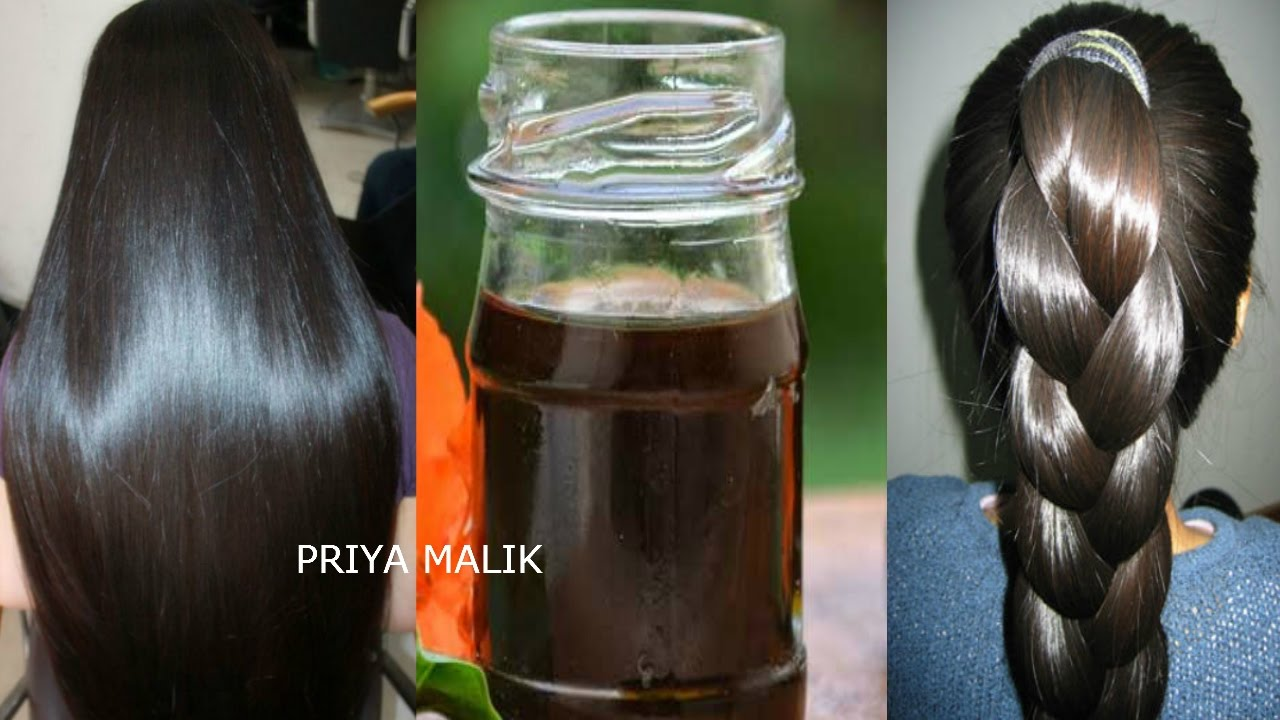 How to grow long black hair naturally at home in tamil